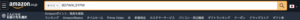 amazonの検索する箇所にASINコードを入力