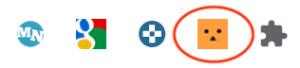 Googleの拡張機能に追加したキーゾンのアイコン